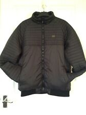 Men's VOI Jeans Black Padded Jacket with Pockets size L Excellent Condition