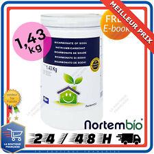 Bicarbonate de Soude 1,43kg Bio 100% Naturel Entretien Nettoyant Maison Ménager
