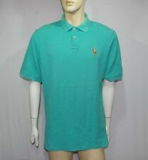 Polo Golf Ralph Lauren  polo t-shirt uomo TG L verde acquamarina usata originale