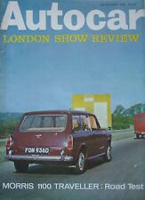 Autocar magazine 28/10/1966 featuring Morris road test, Mercedes 190SL, Honda