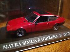 Matra Simca Bagheera S (1977) Altaya 1:43
