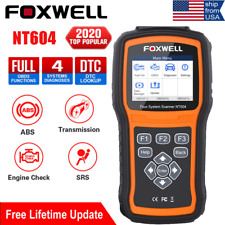 New Foxwell OBD2 Scanner Car Diagnostic Scan Tool Code Reader Engine ABS SRS AT