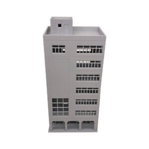Outland Models Scenery for Model Cars Modern Building Tall Shopping Mall 1:64