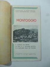 Luigi Gravina, Tappe e ricordi di Valle Scrivia. Montoggio, 1938