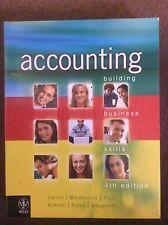 Accounting Building Business Skills 4th Edition, Carlon et. al., 2011