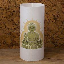 Buddha statue Japanese lamp - Buddha painting - Buddha art - Japanese shoji lamp