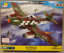 COBI 5543 Messerschmitt Me 262a Schwalbe WWII 315 Bausteine/1 Figur Neuheit