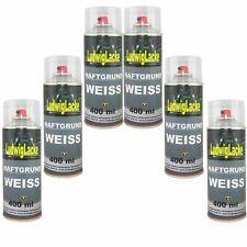 Haftgrund Weiss 6x 400ml Spray Grundierung Füller Autolack Ludwiglacke Ludwiglac