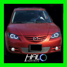 2004-2009 ORACLE Mazda 3 6000K/White CCFL Headlight Halo Ring Kit 4 RINGS