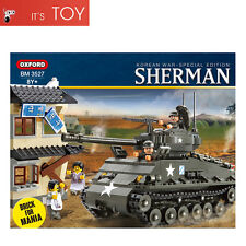 Oxford Block SHERMAN BM3527 M4A3 Tank Brick for Mania Korean War Special Edition