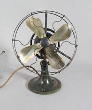 Antique General Electric WHIZ Fan Brass Blades ORIGINAL PAINT WORKS FINE