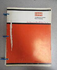 Case 26 Backhoe Back Hoe Parts Catalog Manual C1109 1970