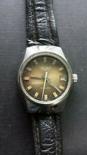 Vintage Retro Gents Automatic 1970's Vulcain Dress Watch all stainless steel