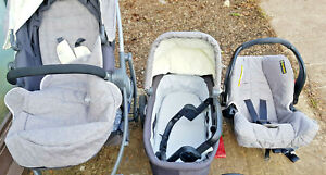 Graco Evo Travel System- used - Mineral