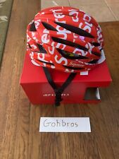 NEW Supreme / Giro Syntax MIPS Bike Cycling Helmet Red / White Size Large