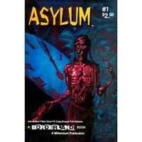 Asylum (1993 series) #1 in Near Mint + condition. Millennium comics [*sl]