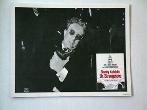 "Stanley Kubrick's ""Dr Strangelove"" Reissue 1972 Set of 8 USA Lobby Card Reprints"