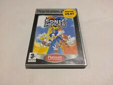 Sonic Heroes Ps2 game