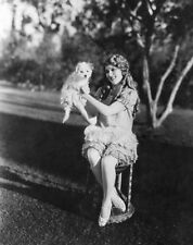 MARY PICKFORD 8x10 PHOTO photograph with dog PICTURE