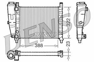 DENSO ENGINE COOLING RADIATOR FOR A FIAT UNO HATCHBACK 1.1 37KW