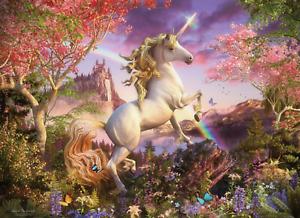 Unicorn Fairies Fantasy 3D Wall Sticker Art Poster Decals Murals Kids Room Z56