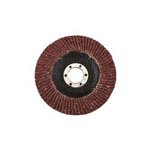 Silverline 115mm 40 Grit Heavy Duty Aluminium Oxide Flap Disc Power - 199877
