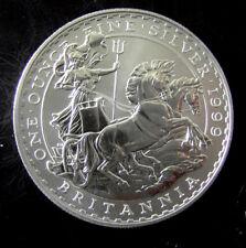 1999 1 oz FINE SILVER £2 BRITANNIA COIN. Uncirculated.