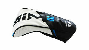 New 2021 TaylorMade Sim2 Driver Headcover Golf Headcover White/Black/Grey