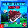 Blastoise Ultra Shiny Gigamax 6ivs Pokémon Espada y Escudo Galar Pokérus