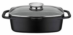 GSW Induktion Bräter Universal Gastro Gourmet Granit 6 Liter NEU