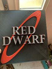 More details for red dwarf logo sign plaque model figurine geek figure gift him her uk