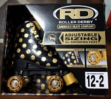 Roller Derby Size 12-2 Gold And Black