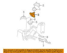 GM OEM Engine Motor Transmission-Motor Mount Bracket Left 88964337