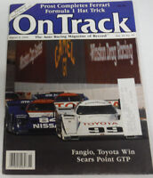 On Track Magazine Fangio Toyota Win August 1990 080714R