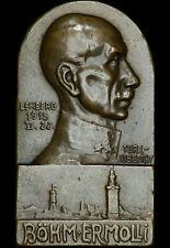 1. WELTKRIEG: Plakette 1915. LEMBERG - LWIW - UKRAINE - EDUARD VON BÖHM-ERMOLLI.