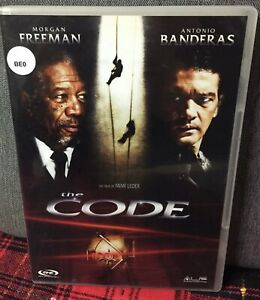 The Code DVD Morgan Frreeman Antonio Banderas Film  Ex Noleggio Come da Foto N
