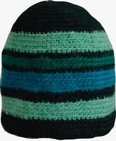 Wool Winter Cap Beanie Hat Unisex Ski Warm Handmade Fleece Knit Thermal Teal