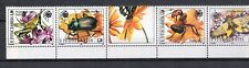 Yugoslavia strip 1996 ☀ Protected Animals - Insects - complete set ☀ MNH**