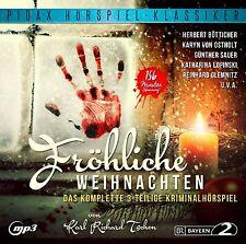 Fröhliche Weihnachten - CD Spannendes 3-teiliges Hörspiel Krimi MP3-CD Pidax Neu