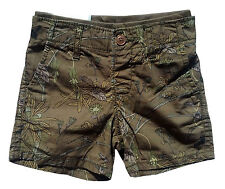 Gap Baby Boys Shorts Jungle Olive Green 12+ Months
