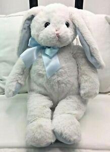 "Bearington Collection Personalized Name Jackson Plush Bunny Rabbit 18"" White"