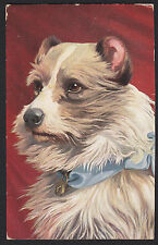 Art-Tuck-Dog-Terrier-Oilette-Rasse Hunde Series-German Back-Antique Postcard