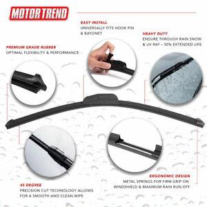 "Premium Motor Trend Windshield Wiper Blades OEM Replacement Wipers 26"""