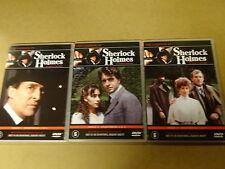 3-DVD SET / SHERLOCK HOLMES - SERIE 3 - AFLEVERING 1 T/M 6