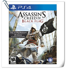 PS4 ASSASSIN'S CREED IV: BLACK FLAG SONY PlayStation Games Action Ubisoft