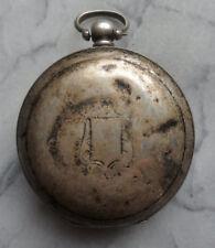 Antique Montre De Poche Case Billodes K. serkisoff, période OTTOMANE, ARGENT 40.3gms