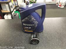VAUXHALL Zafira MK1 1.6 1.8 MK2 1.6 Kit di servizio Filtro Dell'olio & 5 LITRI 10W40