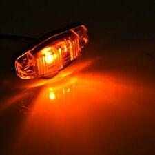4/10X Amber LED Side Marker Light Front 12V-24V Car Van Truck Trailer Lorry Lamp