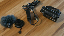 Sony Hdrhc9 High Definition Mini Dv Camcorder 1080Hd w Accessories