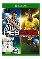 PES 2016 Pro Evolution Soccer XBOX ONE Full Game NEW SEALED